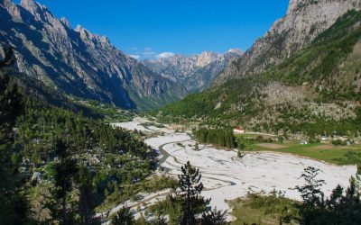 Valbona river bed