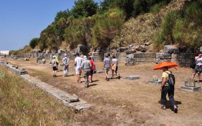In acient time, this used to be a Greek city located at the Via Egnatia