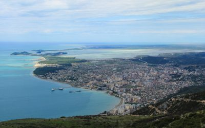 Panoramic views of Vlora